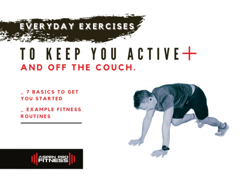 Everyday Exercises to Keep You Active