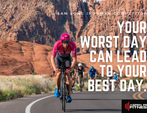 RACE RESULTS: Your Worst Day Can Lead to Your Best Day
