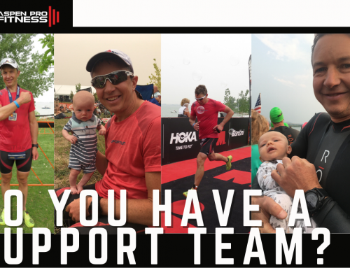 Do You Have a Support Team for Your Racing Endeavors?