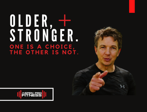 Older, Stronger. One Is a Choice, the Other is Not.